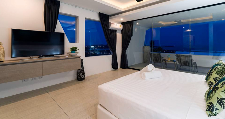 Luxury Sea view 3 Bed Modern Pool Villa on Chaweng-17