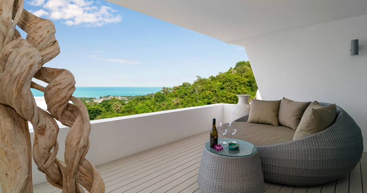 Luxury Sea view 3 Bed Modern Pool Villa on Chaweng-8