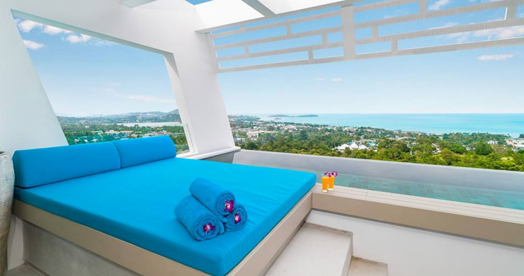 Luxury Sea view 3 Bed Modern Pool Villa on Chaweng-2