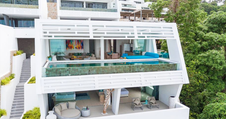 Luxury Sea view 3 Bed Modern Pool Villa on Chaweng-1