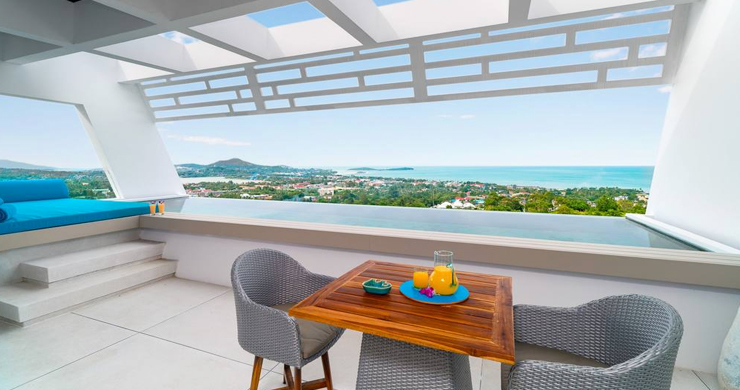 Luxury Sea view 3 Bed Modern Pool Villa on Chaweng-5