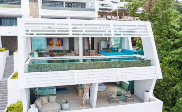Luxury Sea view 3 Bed Modern Pool Villa on Chaweng