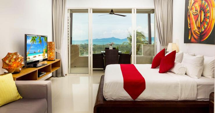 Freehold Luxury Sea view Studio Apartment in Maenam-1