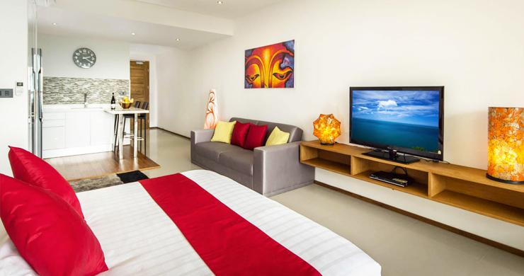 Freehold Luxury Sea view Studio Apartment in Maenam-2