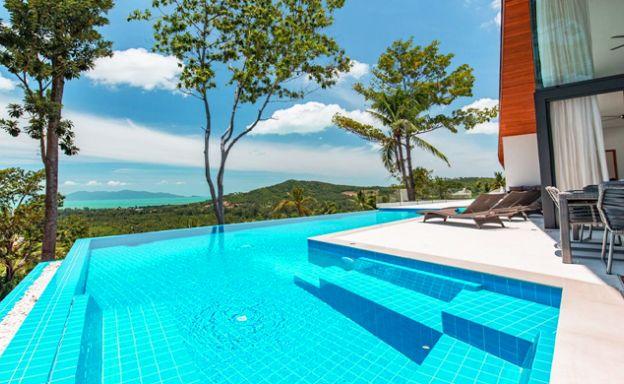 Luxury 5-6 Bedroom Modern Sea view Villa in Maenam