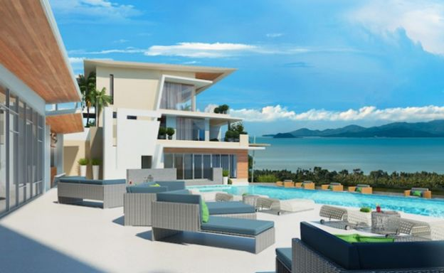 Freehold Luxury Penthouse in Maenam Hillside