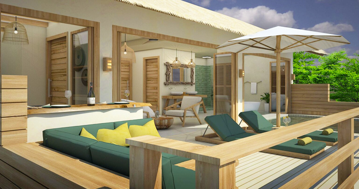 Charming New Seaview Pool Cottages in Lamai-2