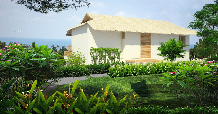 Charming New Seaview Pool Cottages in Lamai-10