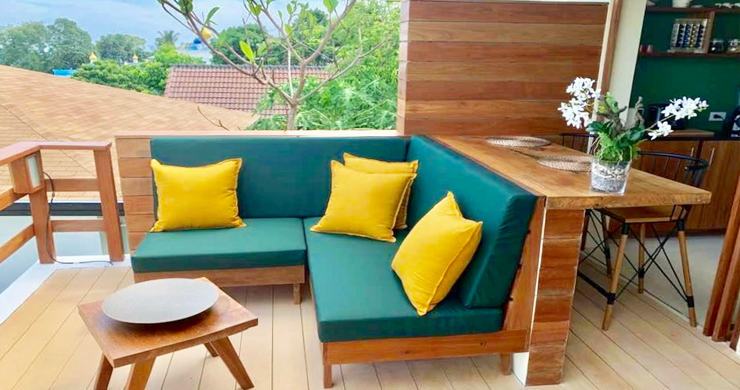 New Seaview Cottages in Lamai - Guarantee 10% Rental-6