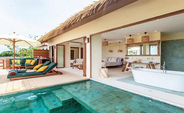 New Seaview Pool Cottages in Chaweng Noi - 8% ROI