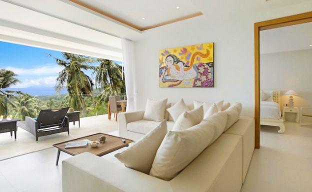 Unique Samui Sea view Luxury Penthouse in Maenam