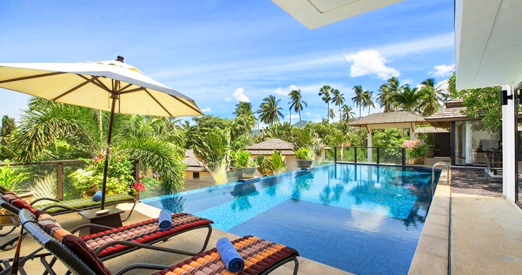 Beautiful 4 Bedroom Luxury Pool Villa on Bophut Beach-1