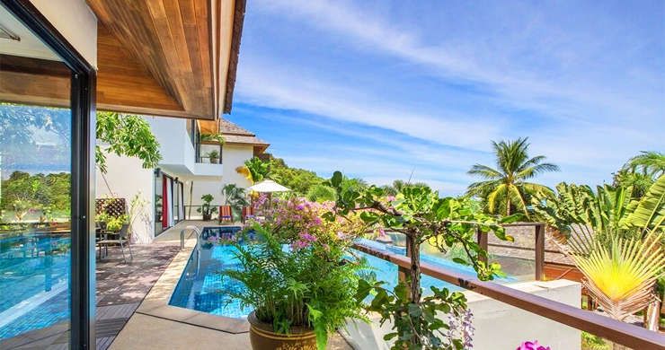 Beautiful 4 Bedroom Luxury Pool Villa on Bophut Beach-14