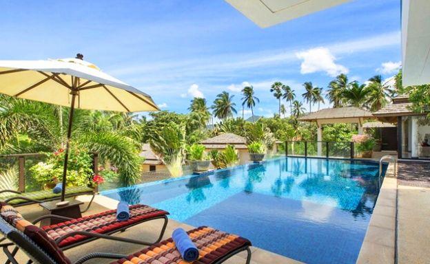 Beautiful 4 Bedroom Luxury Pool Villa on Bophut Beach