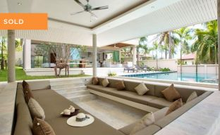 Modern Luxury Private Pool Villas in Peaceful Maenam