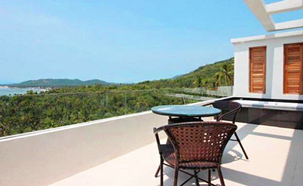 Modern 1 Bed Sea View Apartment for Sale in Lamai
