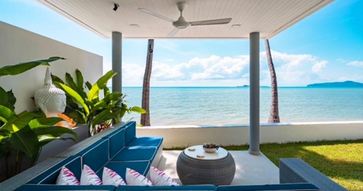 Beautiful 3 Bed Beachfront Villa For Sale on Laem Set-2