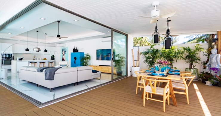 Beautiful 3 Bed Beachfront Villa For Sale on Laem Set-3