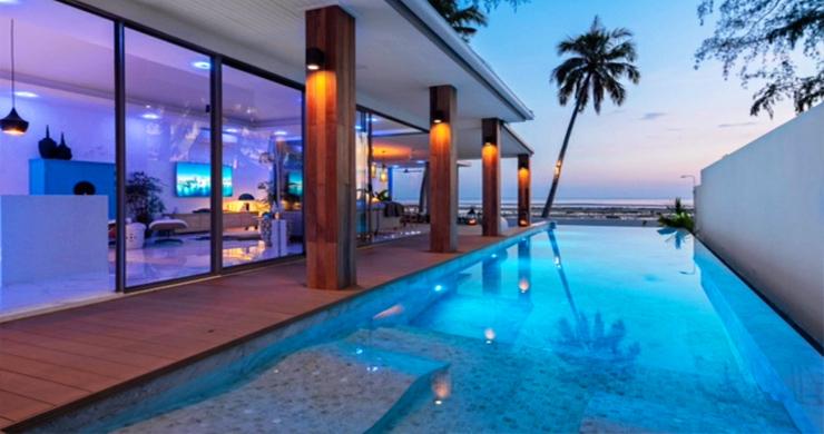 Beautiful 3 Bed Beachfront Villa For Sale on Laem Set-18