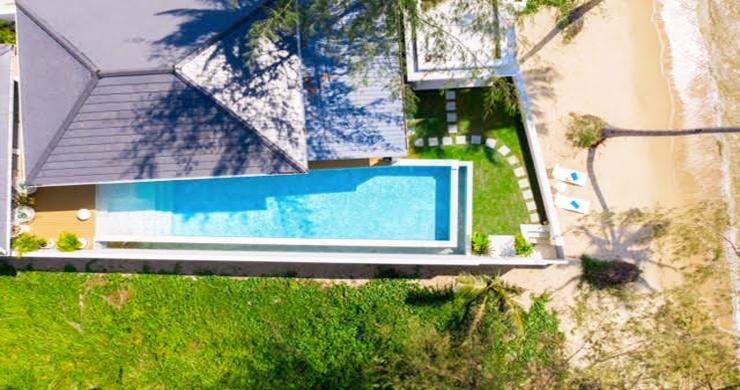 Beautiful 3 Bed Beachfront Villa For Sale on Laem Set-16