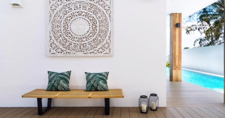 Beautiful 3 Bed Beachfront Villa For Sale on Laem Set-8