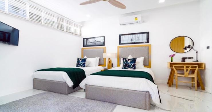 Beautiful 3 Bed Beachfront Villa For Sale on Laem Set-7