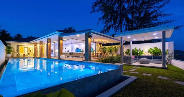 Beautiful 3 Bed Beachfront Villa For Sale on Laem Set-19
