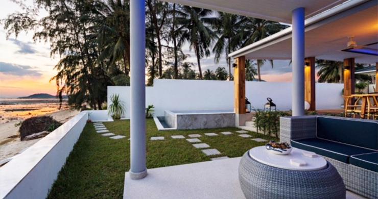 Beautiful 3 Bed Beachfront Villa For Sale on Laem Set-14