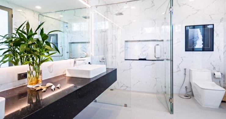 Beautiful 3 Bed Beachfront Villa For Sale on Laem Set-11