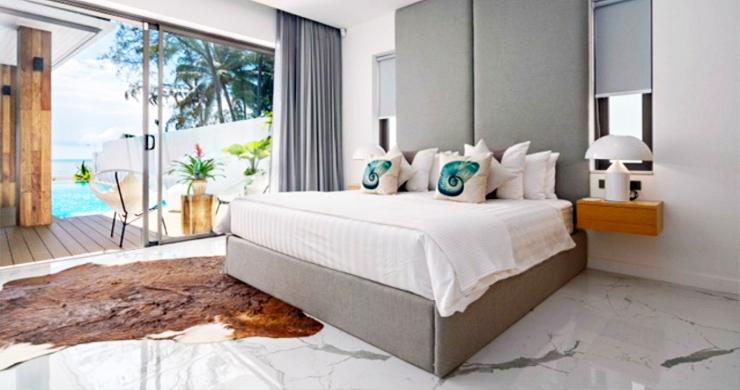 Beautiful 3 Bed Beachfront Villa For Sale on Laem Set-9