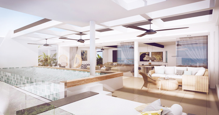 New Luxury Modern 3-5 Bed Pool Villas in Chaweng-2