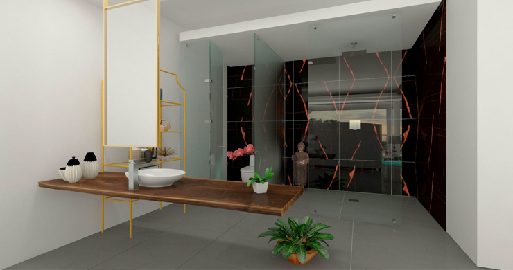 New Luxury Modern 3-5 Bed Pool Villas in Chaweng-10