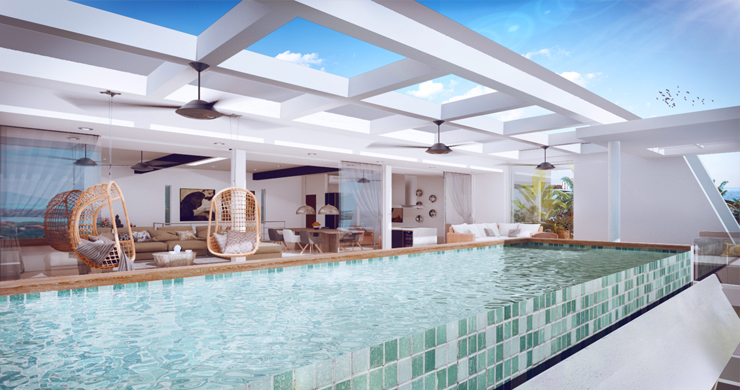 New Luxury Modern 3-5 Bed Pool Villas in Chaweng-1