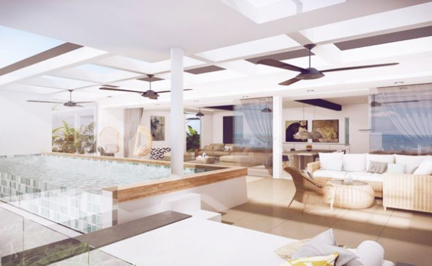 New Luxury Modern 3-5 Bed Pool Villas in Chaweng