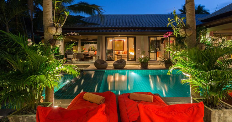 Beautiful 2 Bedroom Balinese Pool Villa in Bophut-16