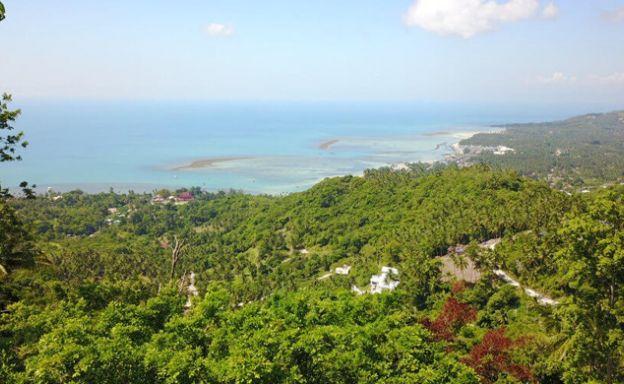 New Sea view Koh Samui Land on Lamai Hillside