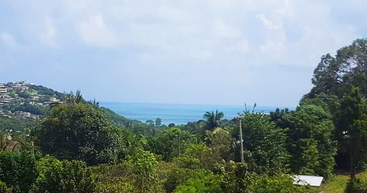 Pristine Panoramic Sea view Land in Peaceful Plai Laem-4