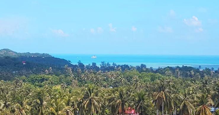 Pristine Panoramic Sea view Land in Peaceful Plai Laem-2