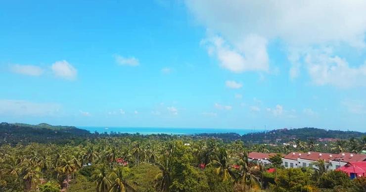 Pristine Panoramic Sea view Land in Peaceful Plai Laem-3
