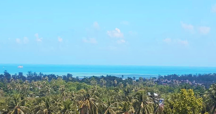 Pristine Panoramic Sea view Land in Peaceful Plai Laem-1