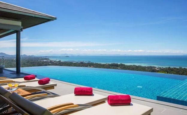 Sumptuous 6 Bedroom Sea view Pool Villa in Bang Por