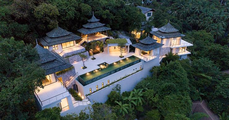 Palatial 6 Bedroom Luxury Oriental Villa in Koh Samui-25