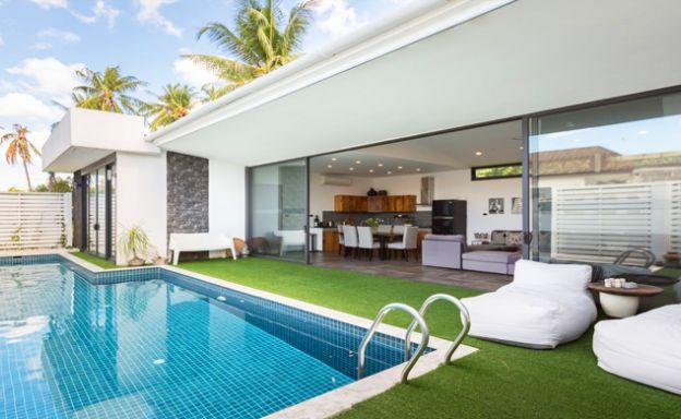 Modern 2 Bedroom Private Pool Villa in Bophut