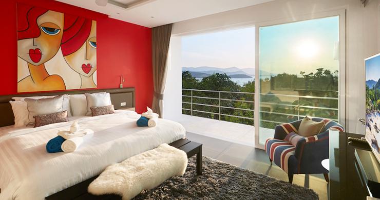 Sensational 4 Bed Sunset Sea View Villa in Big Buddha-11
