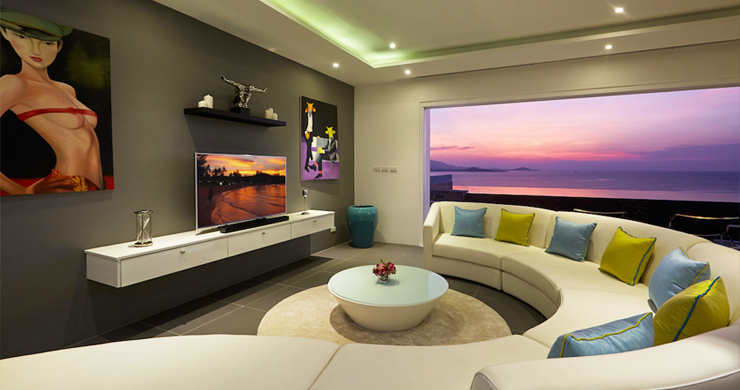 Sensational 4 Bed Sunset Sea View Villa in Big Buddha-16