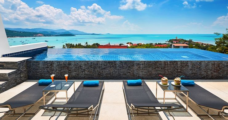 Sensational 4 Bed Sunset Sea View Villa in Big Buddha-9