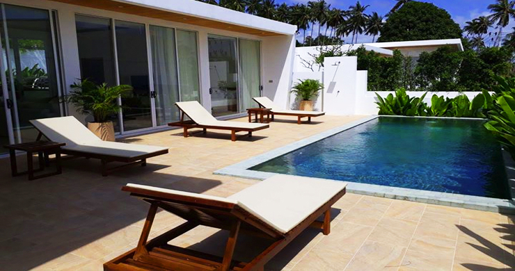 Modern 3+1 Bedroom Pool Villa for Sale in Chaweng-11
