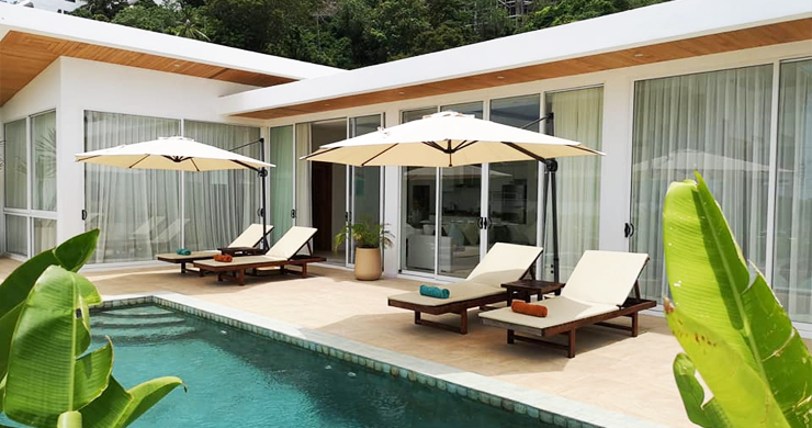 Modern 3+1 Bedroom Pool Villa for Sale in Chaweng-1
