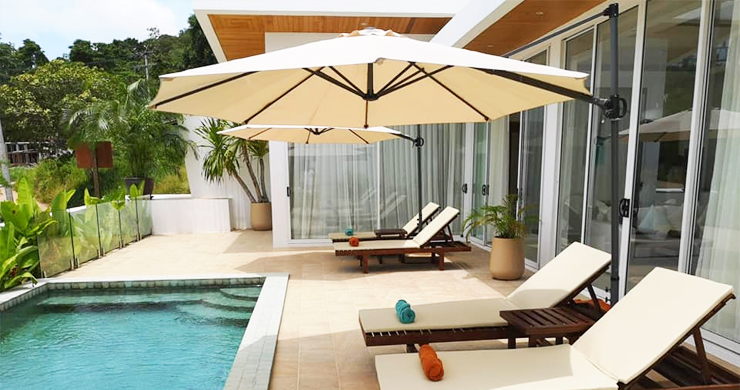 Modern 3+1 Bedroom Pool Villa for Sale in Chaweng-2