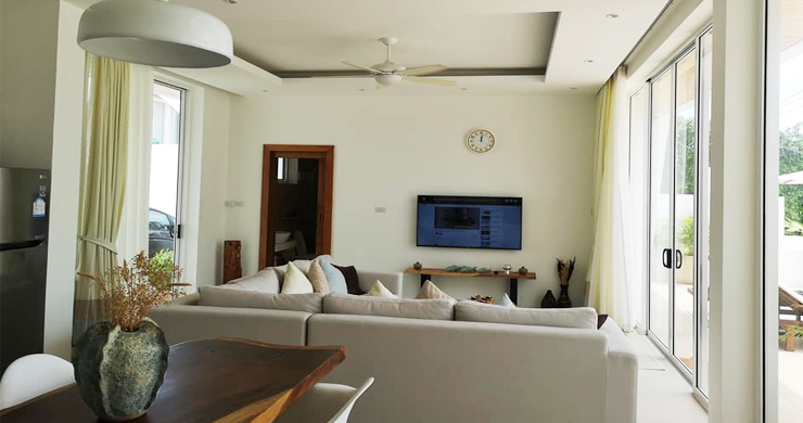 Modern 3+1 Bedroom Pool Villa for Sale in Chaweng-3